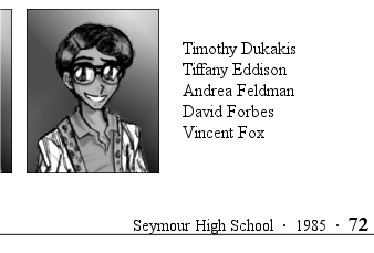 Seymour High School - 1985